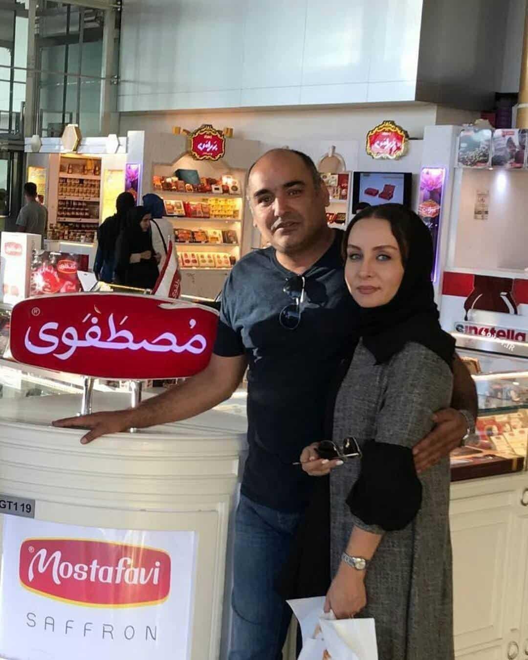 عکس رامبد شکرابی و همسرش حدیث فولادوند