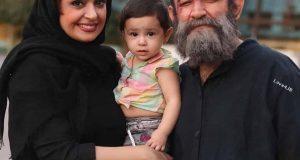 تیپ مشکی هدایت هاشمی و همسر جدیدش