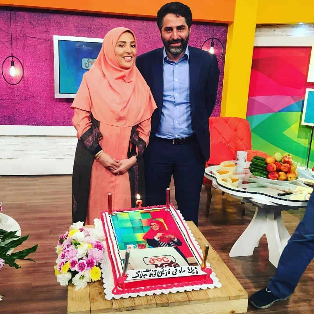 جشن تولد ژیلا صادقی | کیک تولد ژیلا صادقی