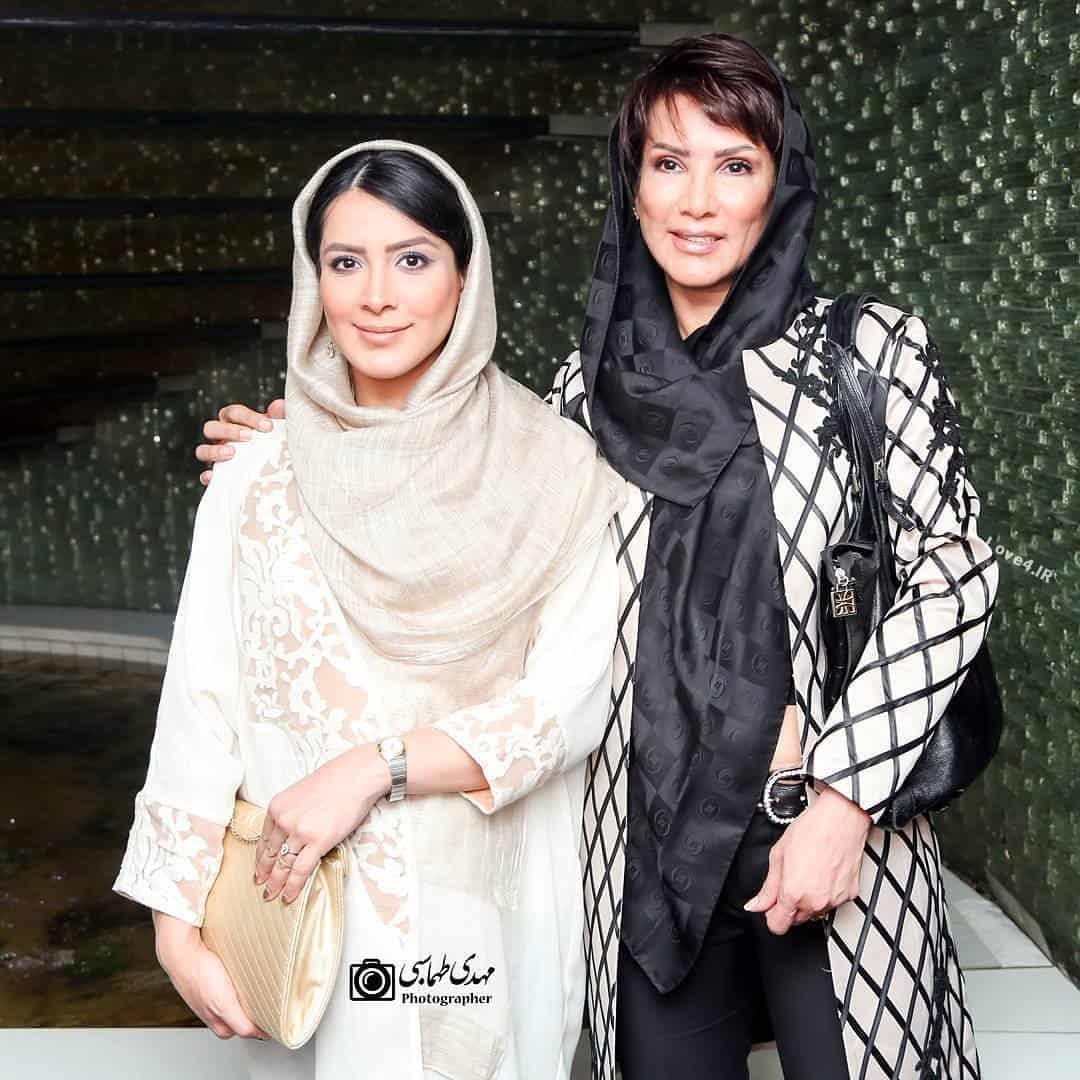 تیپ مهشید افشارزاده و دخترش