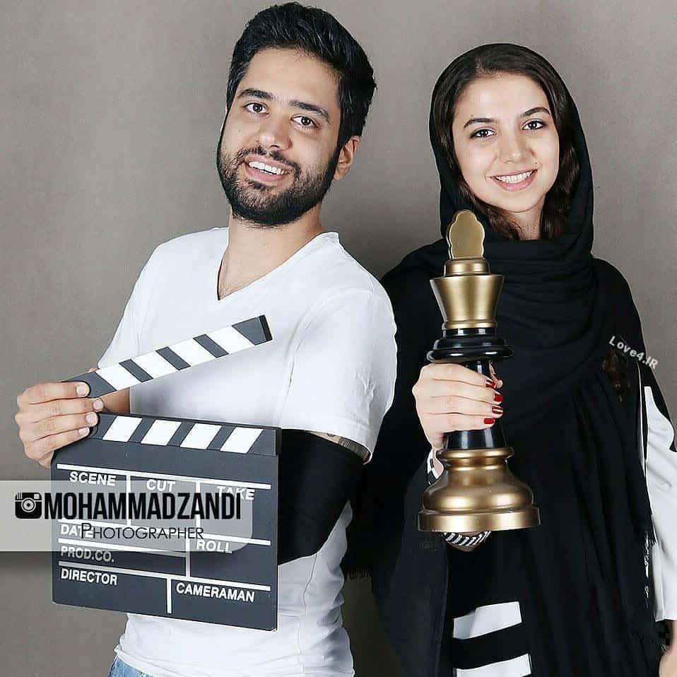 عکسهای سارا خادم الشریعه و همسرش اردشیر احمدی