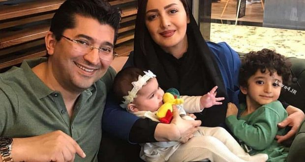 عکس دورهمی شیلا خداداد فرزندانش و همسرش