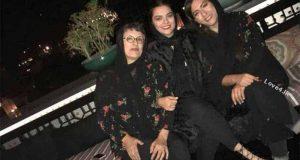 تیپ جدید رویا تیموریان و دخترانش دنیا و درنا