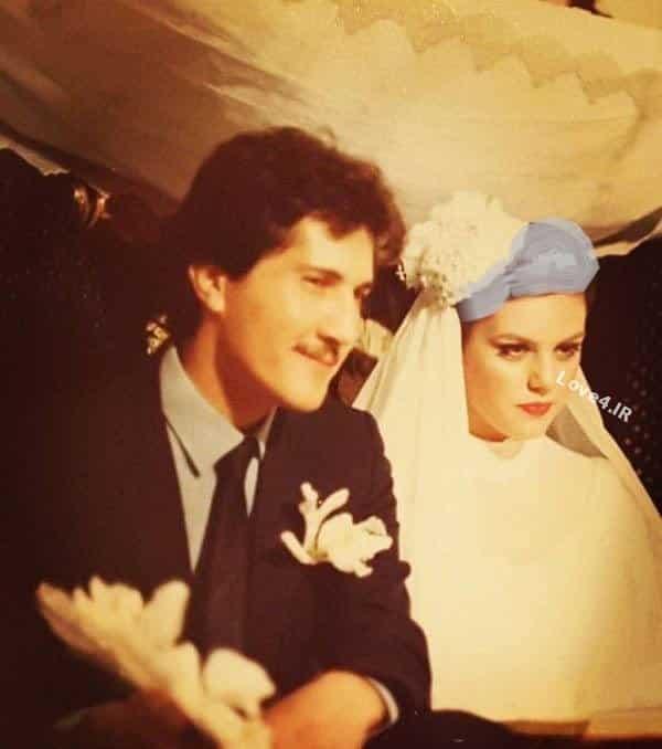 فیلم و عکس عروسی افسانه چهره آزاد و همسرش شاهرخ فروتنیان