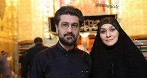 تیپ امیرحسین مدرس و همسرش در نجف