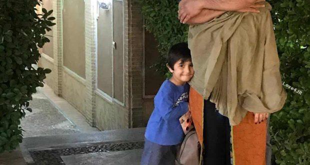 بیوگرافی و عکسهای عاشقانه برزو ارجمند با همسر و پسرش