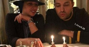 تیپ آناهیتا درگاهی در جشن تولد 38 سالگی اشکان خطیبی