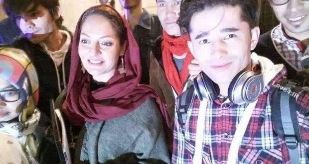تیپ مهناز افشار در جشنواره فیلم زنان در کابل +تصاویر هواداران