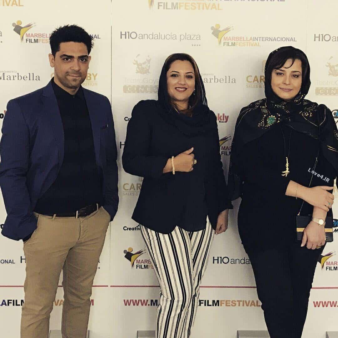 حجاب مهراوه شریفی نیا و غزاله سلطانی در جشنواره فیلم اسپانیا
