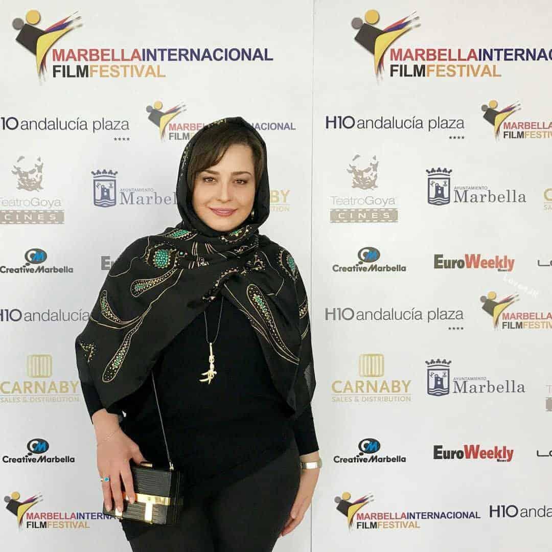 حجاب مهراوه شریفی نیا در جشنواره فیلم اسپانیا