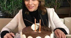 جشن تولد سحر دولتشاهی | مدل کیک تولد سحر دولتشاهی