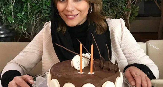 جشن تولد سحر دولتشاهی   مدل کیک تولد سحر دولتشاهی