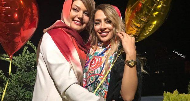 تیپ سمانه پاکدل در جشن تولد 30 سالگی