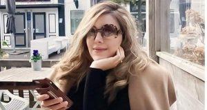 تیپ و مدل لباس سروین بیات همسر رضا قوچان نژاد در هلند