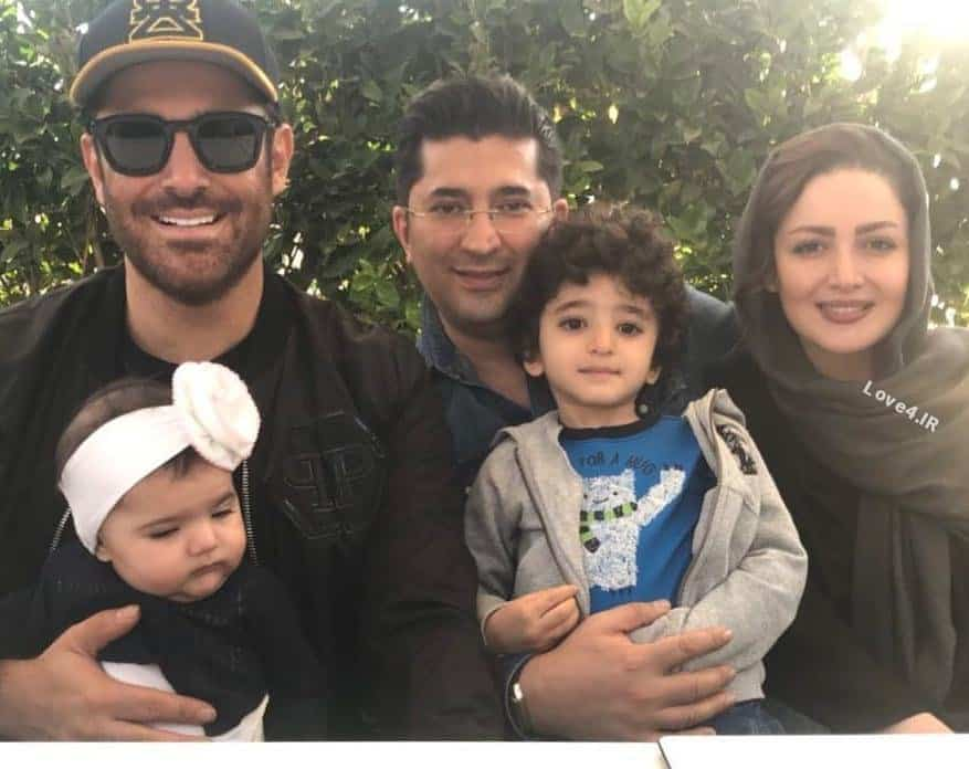 عکس خانوادگی شیلا خداداد با محمدرضا گلزار