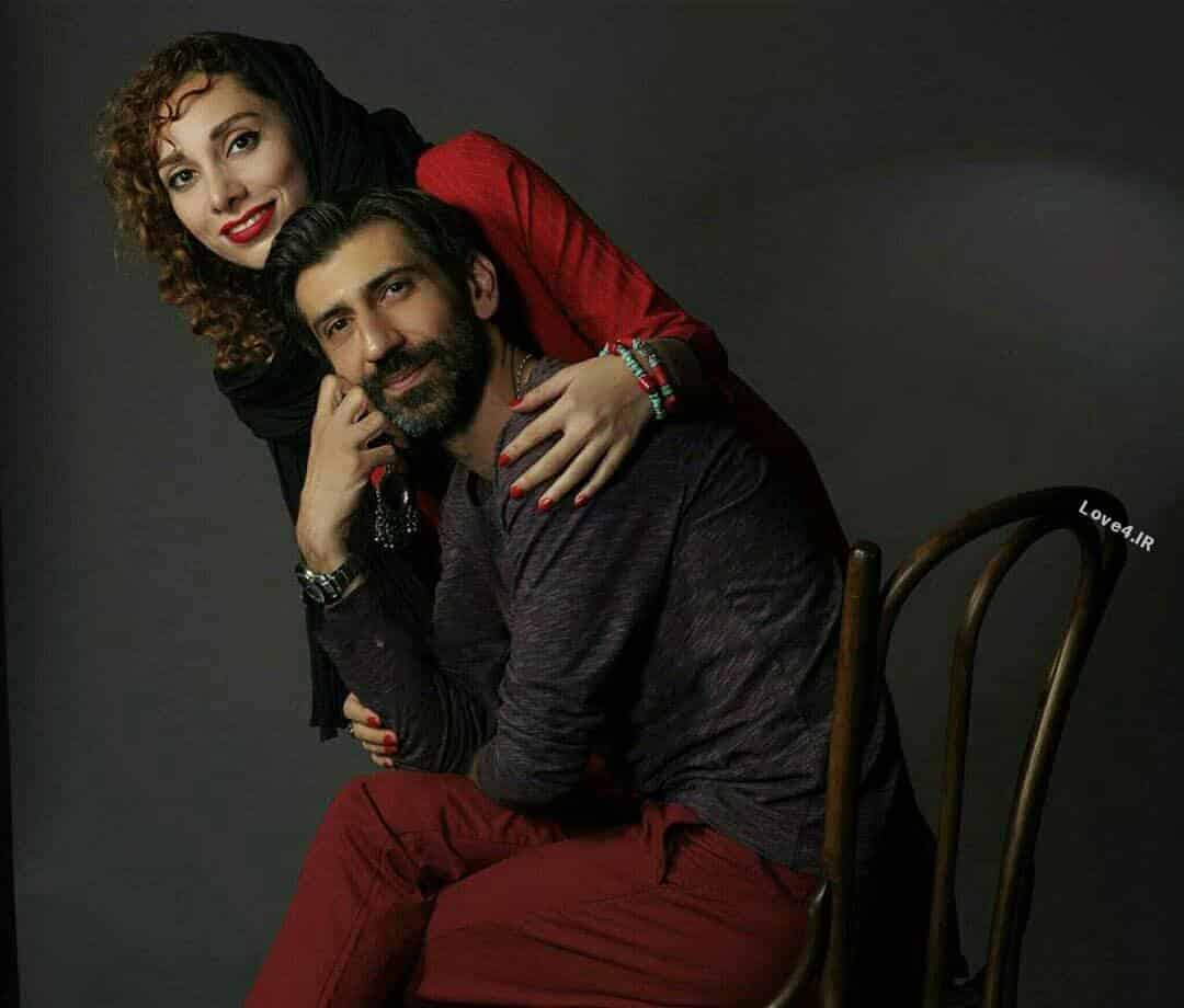 تیپ و مدل لباس سینا رازانی و همسرش