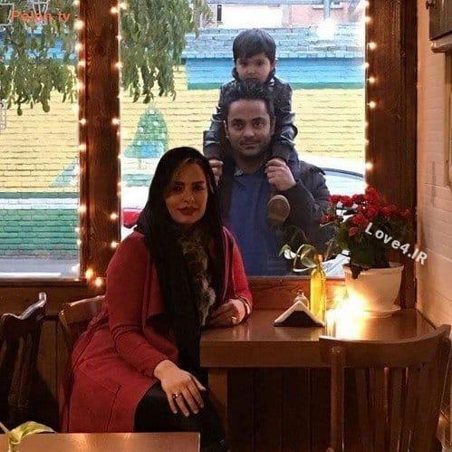 تیپ سپیده خداوردی همسر و فرزندش