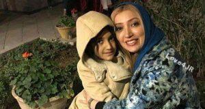 عکس جدید نگار عابدی و دخترش