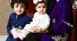عکس شیلا خداداد با فرزندانش ساتین و سامیار
