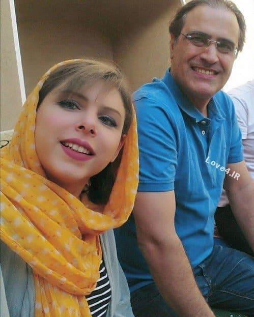 عکس سلفی بهزاد خداویسی با همسرش