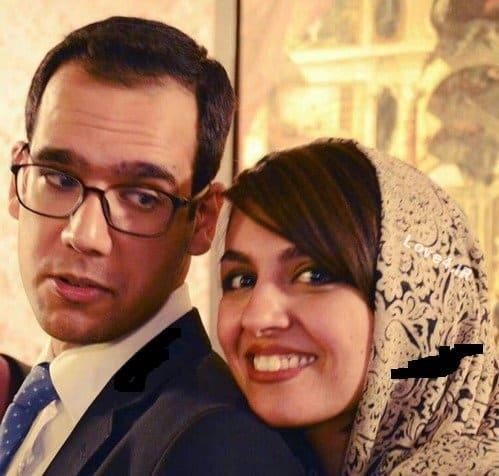 عکس جدید بهزاد قدیانلود کنار همسرش