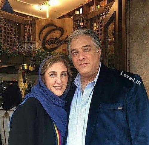 عکس جدید ایرج نوذری و خواهرش