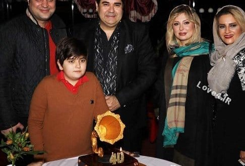 نیوشا ضیغمی در جشن تولد سالار عقیلی +عکس