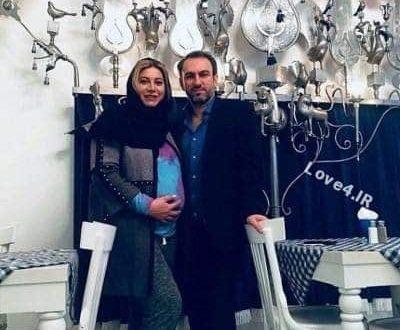 اولین عکس فریبا نادری همسر و فرزندش