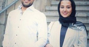 تیپ جدید اشکان خطیبی و همسرش