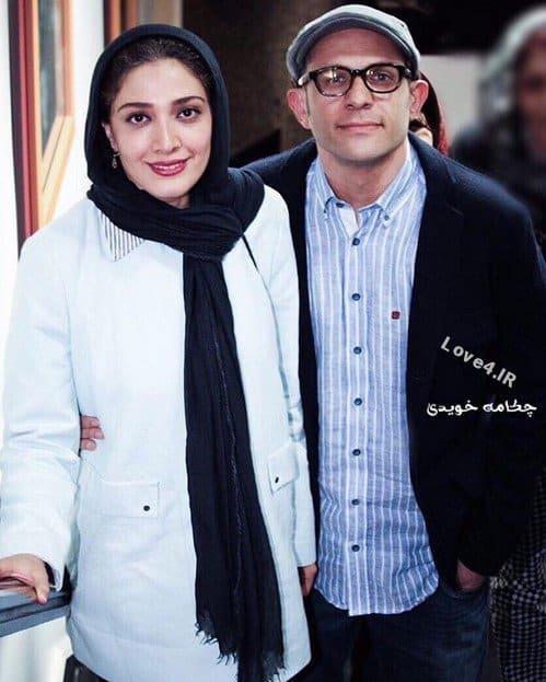 مدل لباس زوج هنرمند بابک حمیدیان و مینا ساداتی