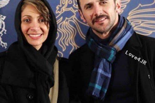 عکس امین حیایی و نیلوفر خوش خلق زوج هنرمند
