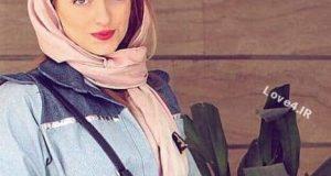 گریم خفن نهال دشتی بازیگر زن ایرانی