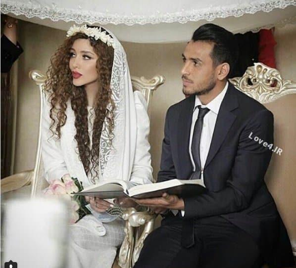 عکسهای عروسی نیکی محرابی بازیگر و یعقوب کریمی