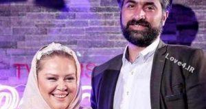 موتورسواری بهاره رهنما با همسر دومش