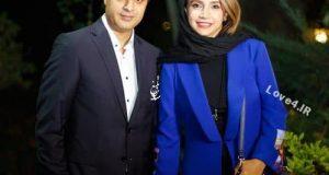 مدل لباس جدید شبنم قلی خانی و همسرش