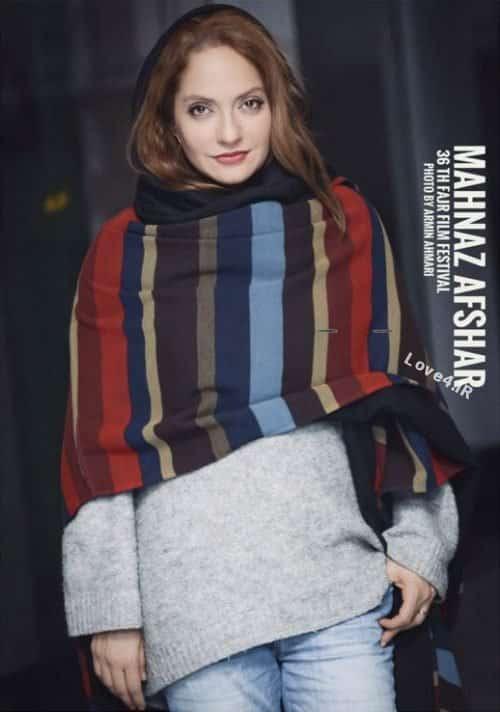 تیپ و مدل لباس مهناز افشار در جشنواره فیلم فجر