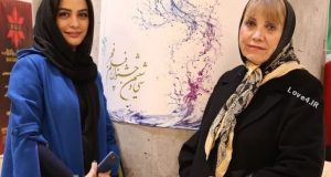 مدل لباس مارال فرجاد همراه مادرش در جشنواره فجر