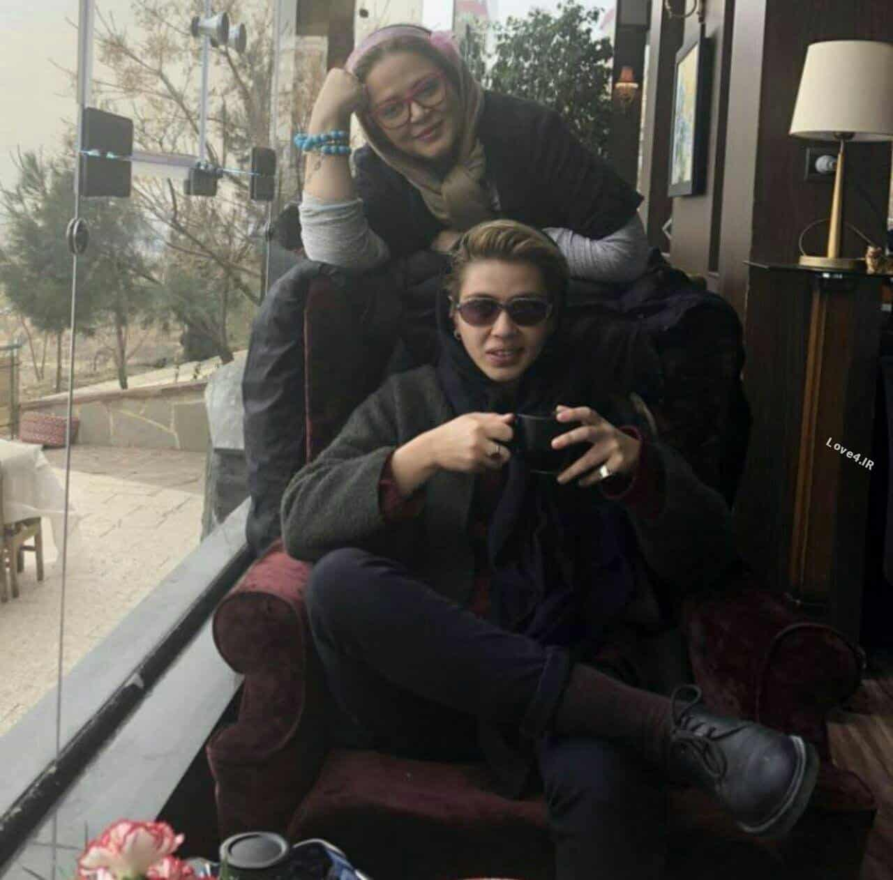 عکس اینستاگرامی بهاره رهنما کنار دخترش پریا