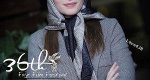 تیپ بهنوش طباطبایی در جشنواره فجر با استایل جدید
