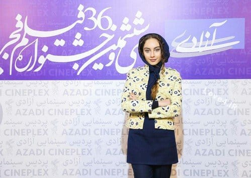 تیپ متفاوت ترلان پروانه در جشنواره فیلم فجر 96