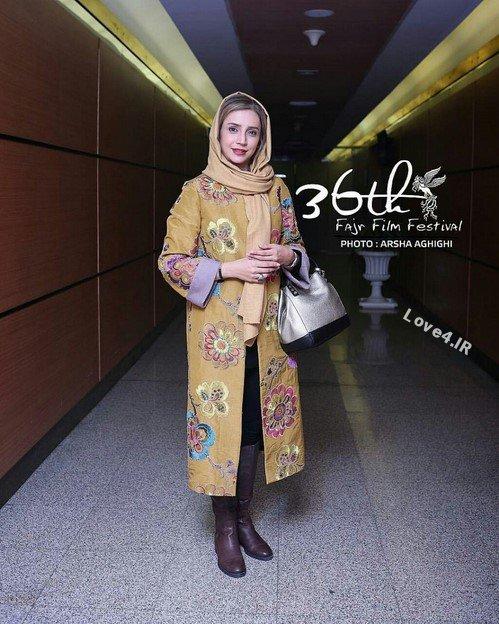 تیپ متفاوت شبنم قلی خانی در جشنواره 36 فیلم فجر