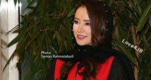 مدل لباس الناز حبیبی در جشنواره فیلم فجر
