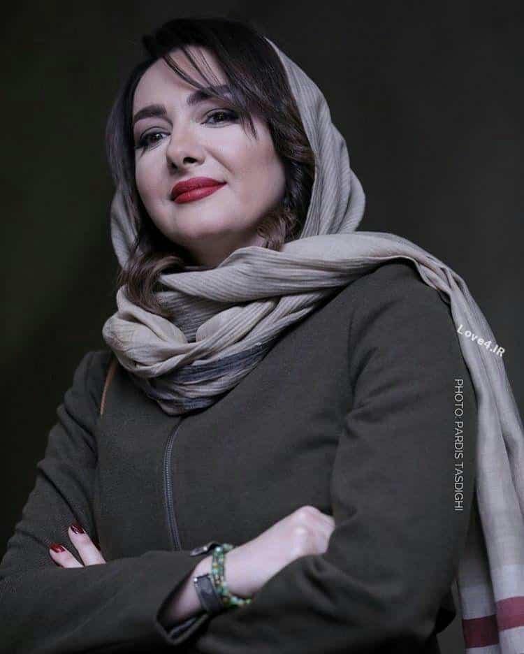تیپ جدید هانیه توسلی بازیگر زن ایرانی
