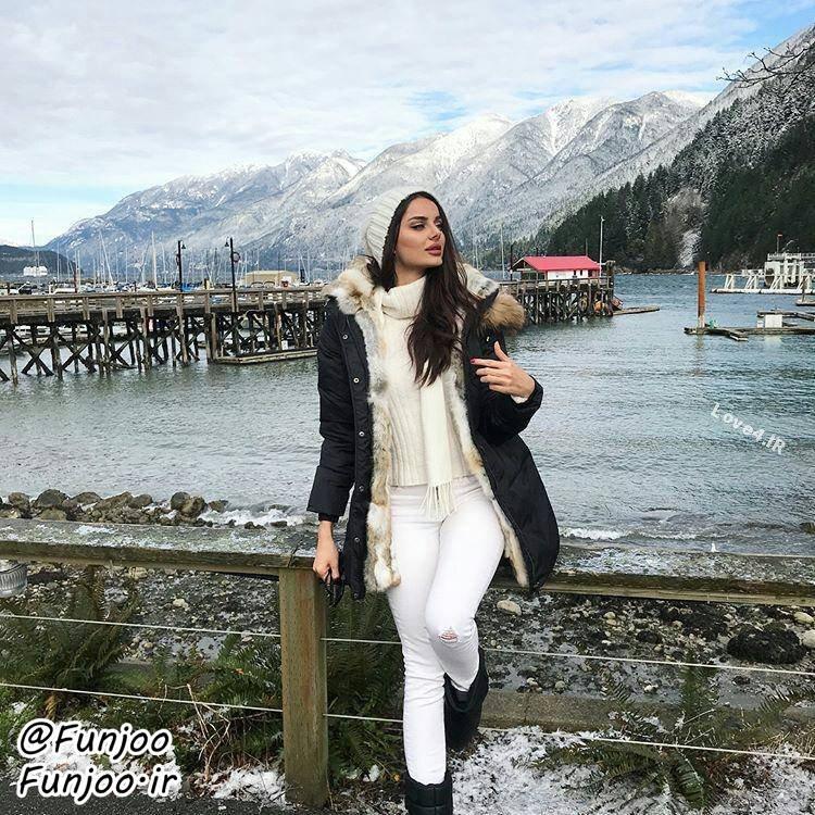بیوگرافی مهلقا جابری   عکسهای اینستاگرام مهلقا جابری مدل ایرانی