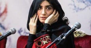 مدل لباس مژگان صابری در جشنواره فیلم فجر