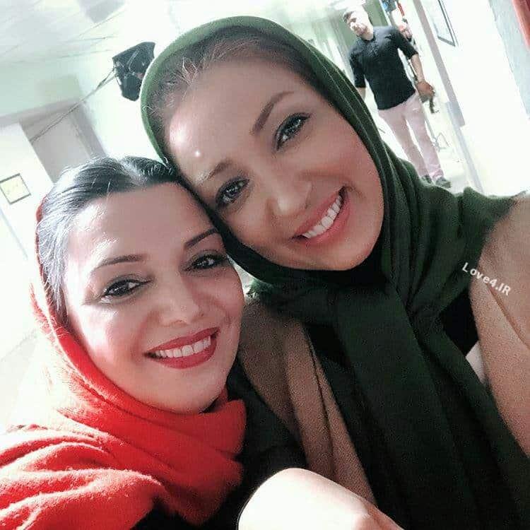 عکس جدید نگار عابدی و الهام پاوه نژاد