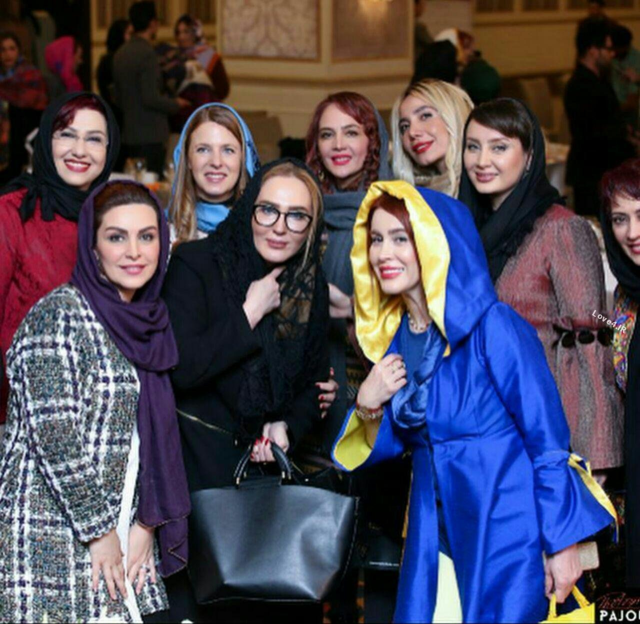 تیپ بازیگران زن ایرانی اسفند ماه