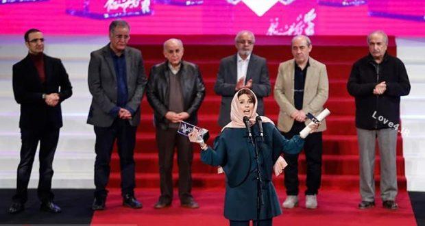 تیپ سارا بهرامی در جشنواره فیلم فجر
