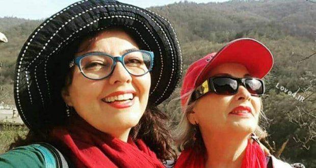 عکس جدید آناهیتا همتی و مادرش با پوشش خاص