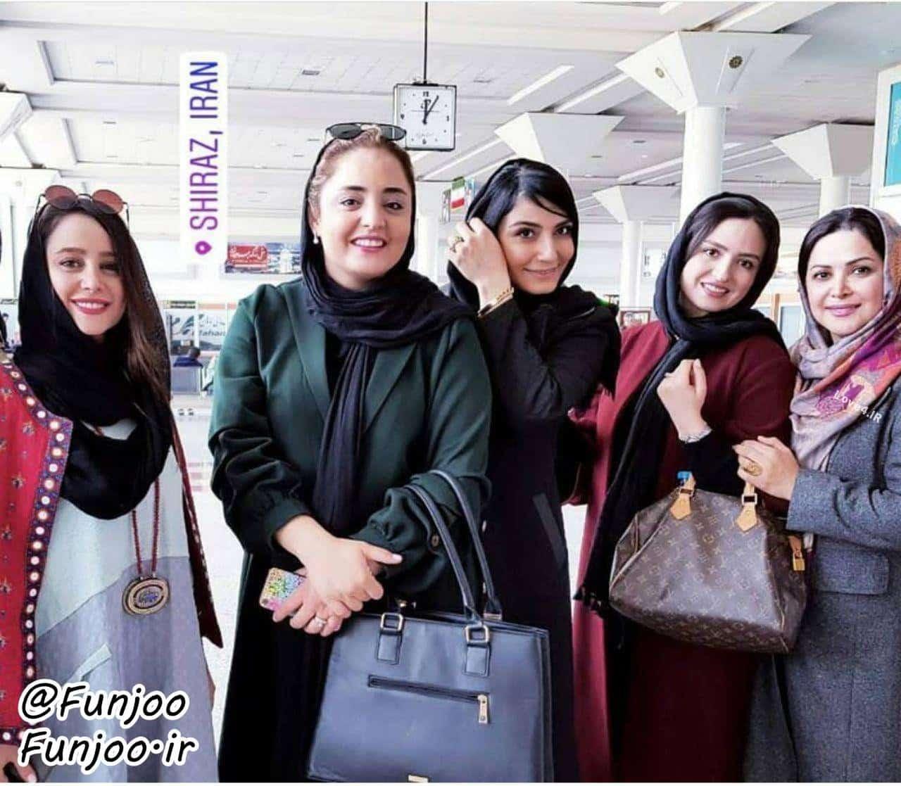 تیپ بازیگران زن ایرانی در شیراز